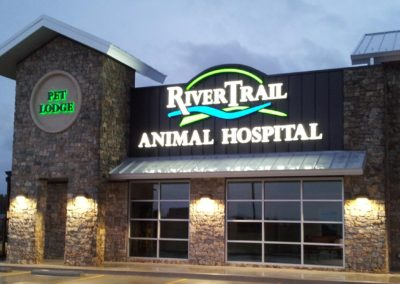 River Trail Animal Hospital Channel Letters