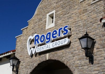 Rogers Dental Group Channel Letters