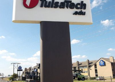Tulsa Tech Pylon ID