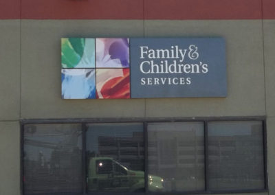 Family & Children Services Wall ID