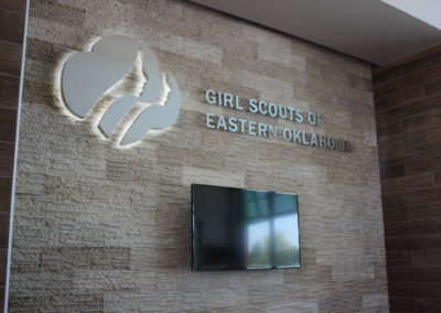 Girl Scouts Interior Lobby Signage