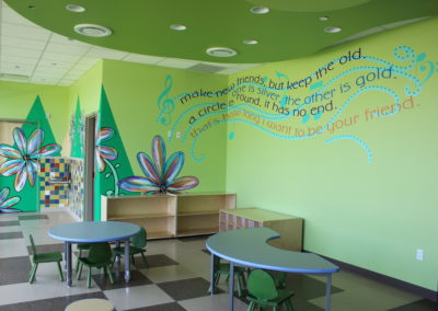 Girl Scouts Flower Vinyl and Quote